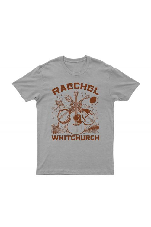 HOMETOWN GREY TSHIRT by Raechel Whitchurch